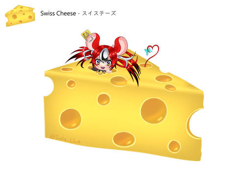 Daily Baelz Cheese Drawing - Swiss Cheese