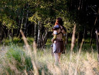 Aela the Huntress I by o0shokei0o