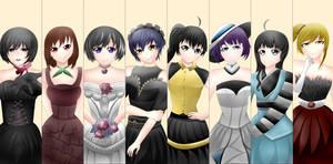 Monogatari's Bride by Cafarielle