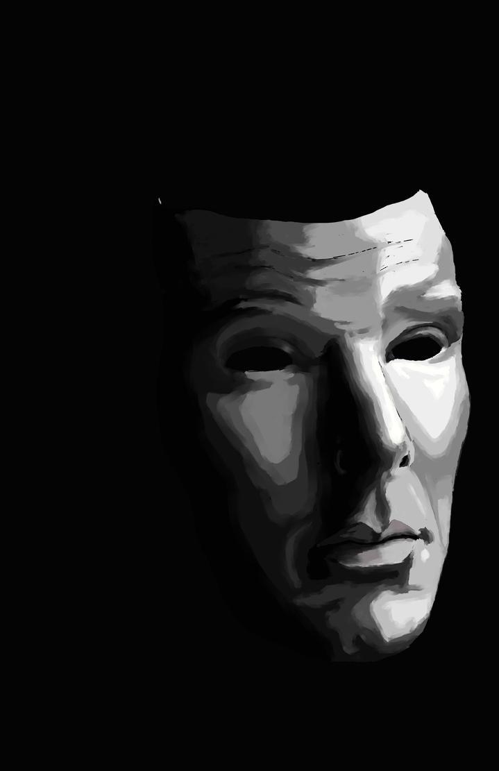 Drama Mask Benedict Cumberbatch by CindersFallLikeSnow on ...
