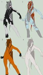 Furry Stallion Adopts/Breedables 2 by WahyaMiakoda