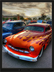 Orange Flames HDR by HogRider