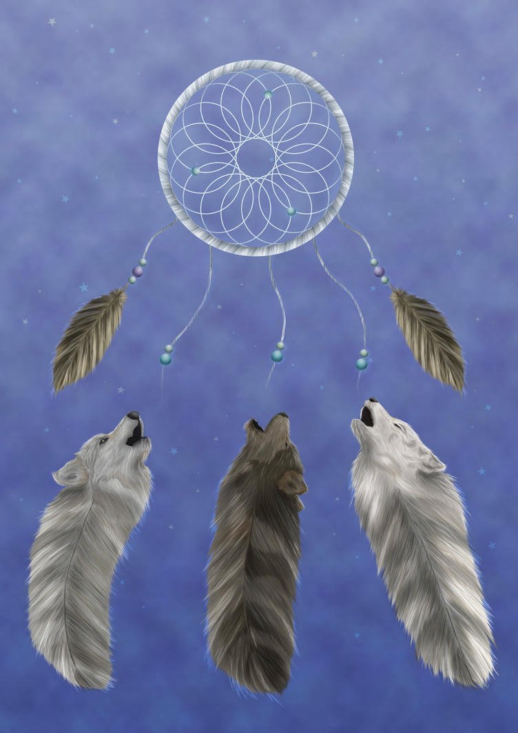 Dream Wolves by mmchaves