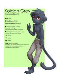 Koldan Grey reference by KoldanGrey
