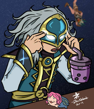 Hands free Bubble Tea (Jenos)