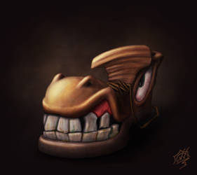Mad shoe by Snoeffel