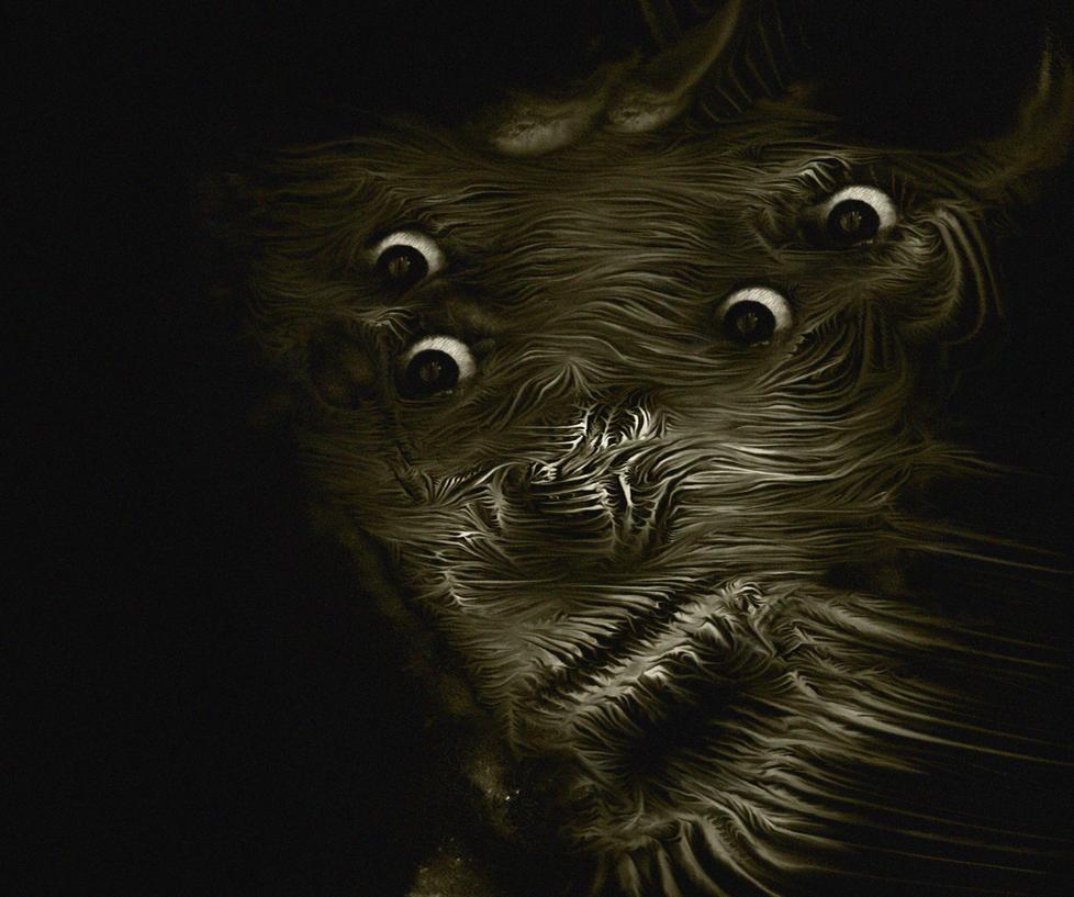underwater monsters by moppaa