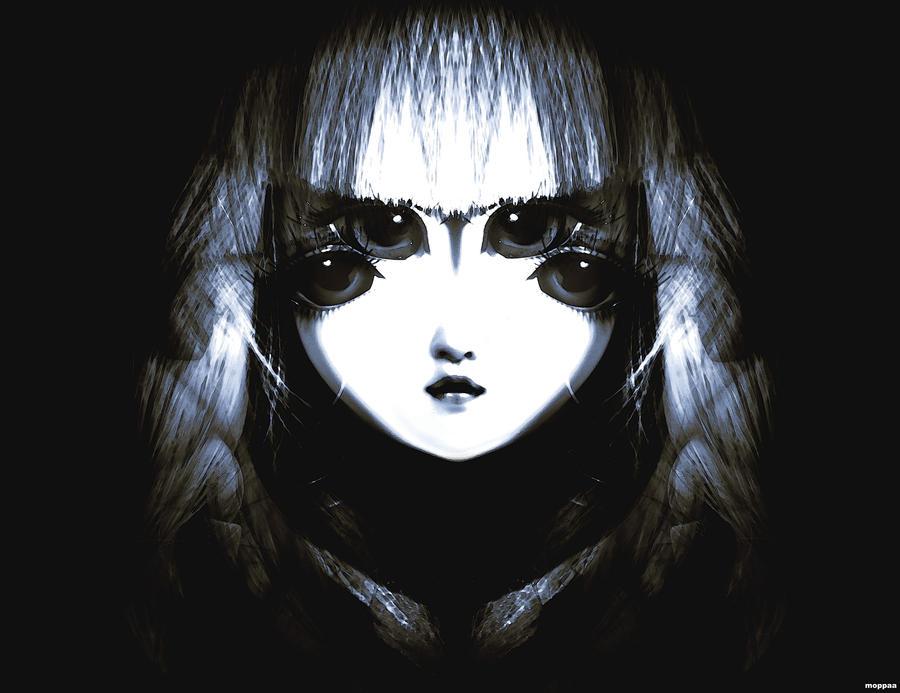 Lifeless eyes doll by moppaa