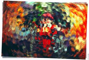 AAA Print DED MOROZ by moppaa