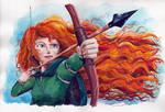 Merida - Brave by RogerioBasile
