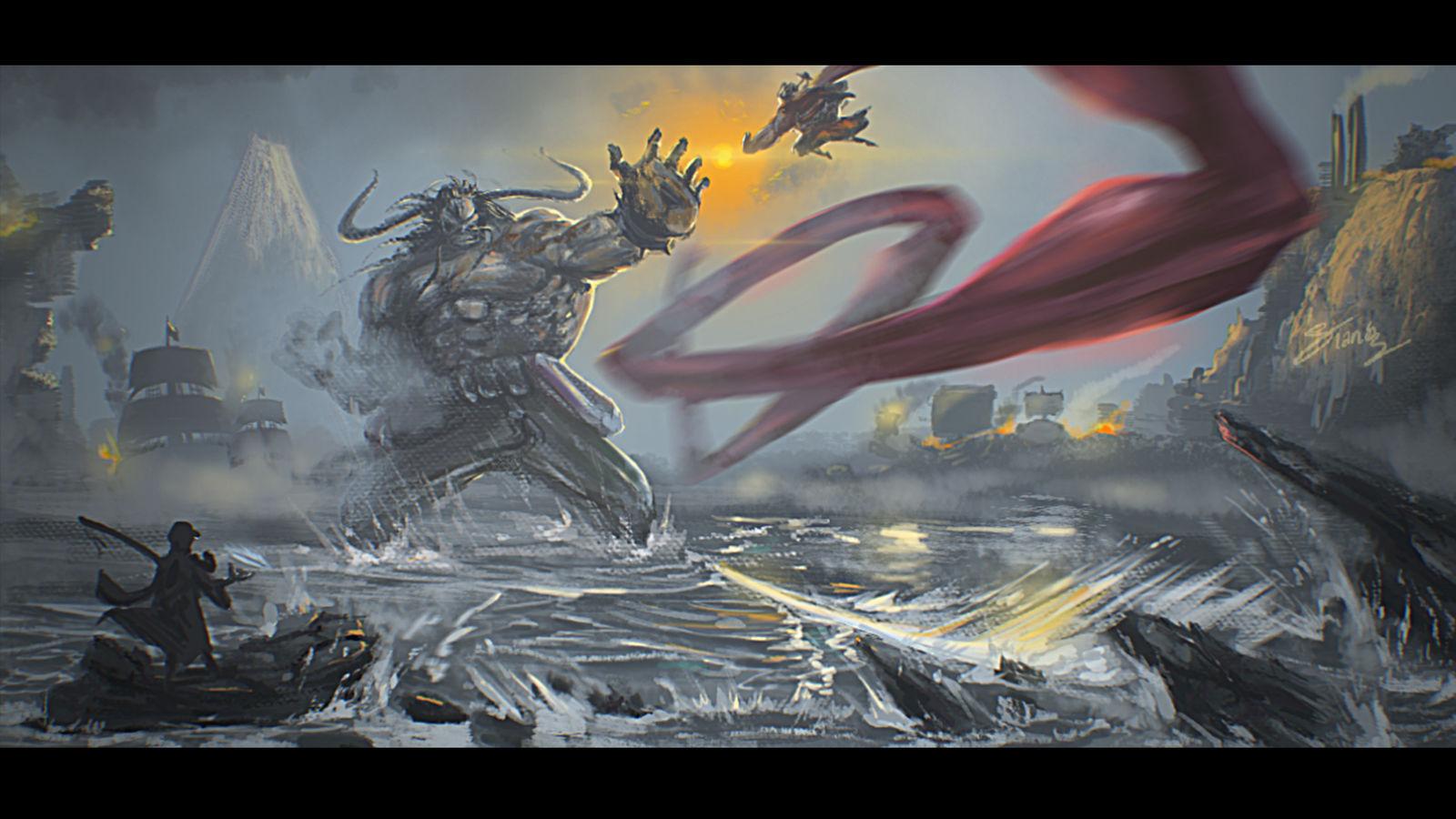 Battle Of Wano Kuni By Frontstabb3r On Deviantart