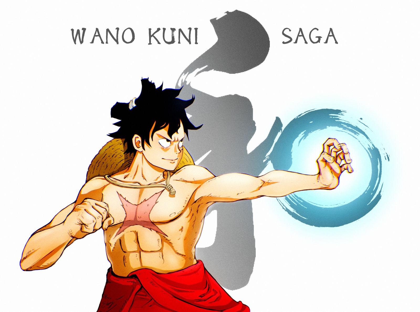 Wano Kuni Luffy By Frontstabb3r On Deviantart