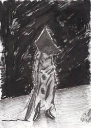 Pyramid Head Inked