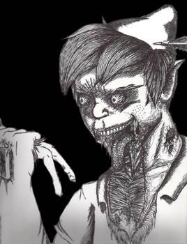 Zombie Peter Pan