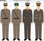 Selection Of North Korean Uniforms