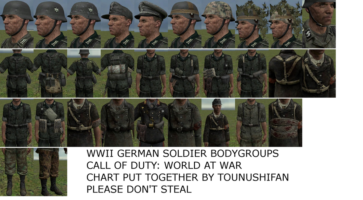 how to change outfit cod ww2