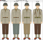 US WWII M1943 Uniform