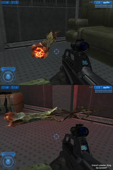 Halo 2 - Covenant Branding Iron