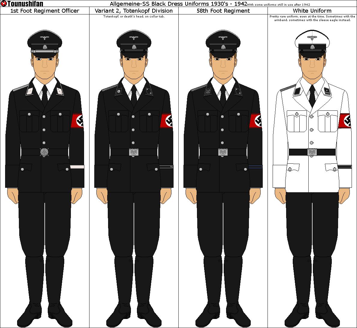 Allgemeine-SS Uniforms By Grand-Lobster-King On DeviantArt