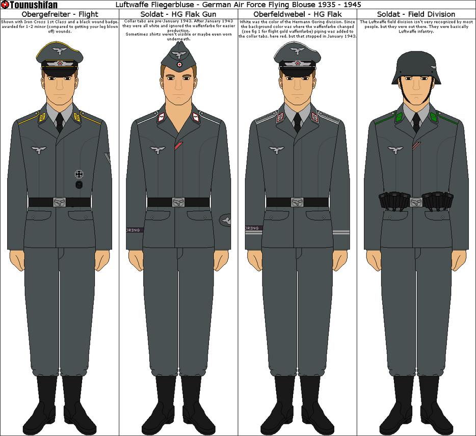 New Army Dress Uniform 2014 Luftwaffe Fliegerbluse...