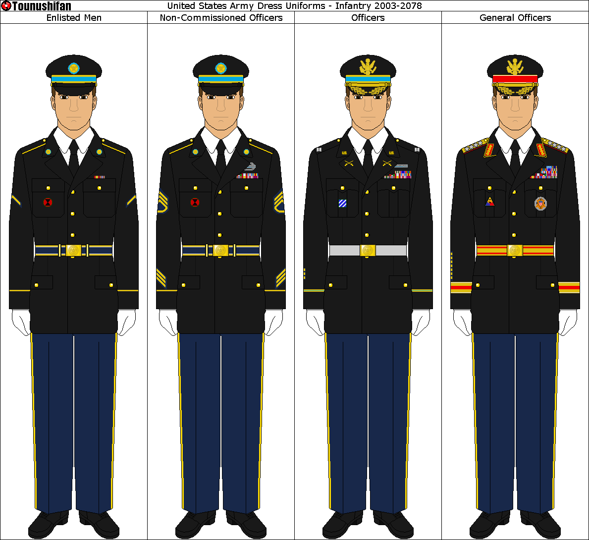 american military formal uniforms
