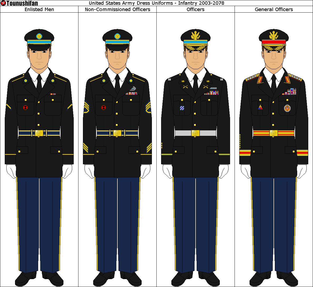 american military formal uniforms