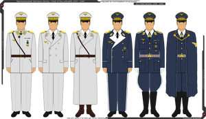 Some of Reichsmarschall Hermann Goring's Uniforms by Grand-Lobster-King
