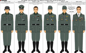 Leon Degrelle's Uniforms by Grand-Lobster-King