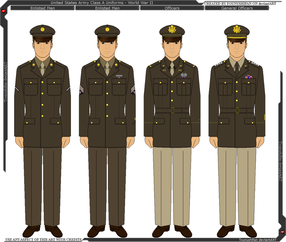 Wwii us army class a uniform by grand lobster king on deviantart wwii us army class a uniform by grand lobster king publicscrutiny Choice Image