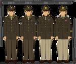 WWII U.S. Army Class A Uniform