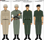 Iraqi Army Uniforms c.2003