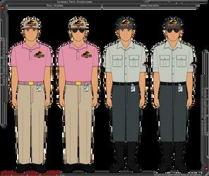 Jurassic Park - Employee Uniforms