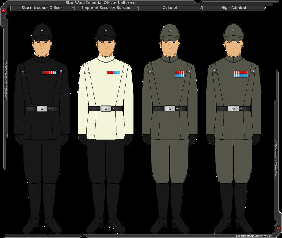 Ranks In Marine >> Star Wars - Imperial Officer Uniforms by Grand-Lobster-King on DeviantArt