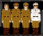Some Nazi Party Uniforms