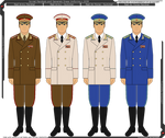Panterria - Soviet General and Marshal Uniforms