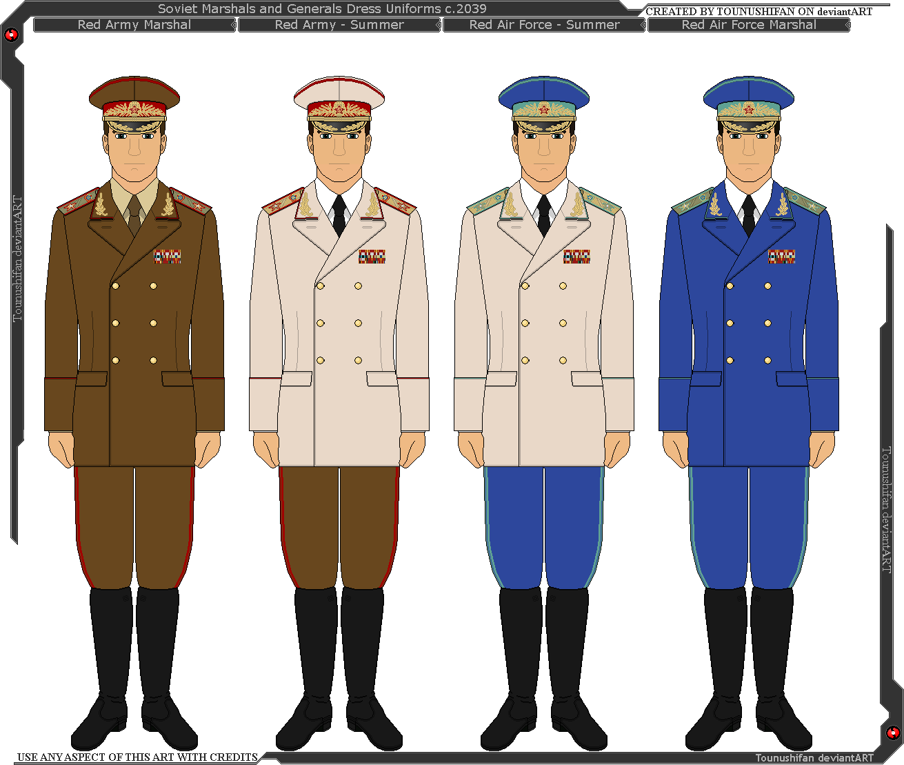 Japanese Generals Panterria Soviet General And Marshal Uniforms By Grand