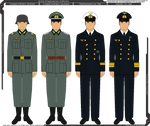 Some Kriegsmarine Uniforms
