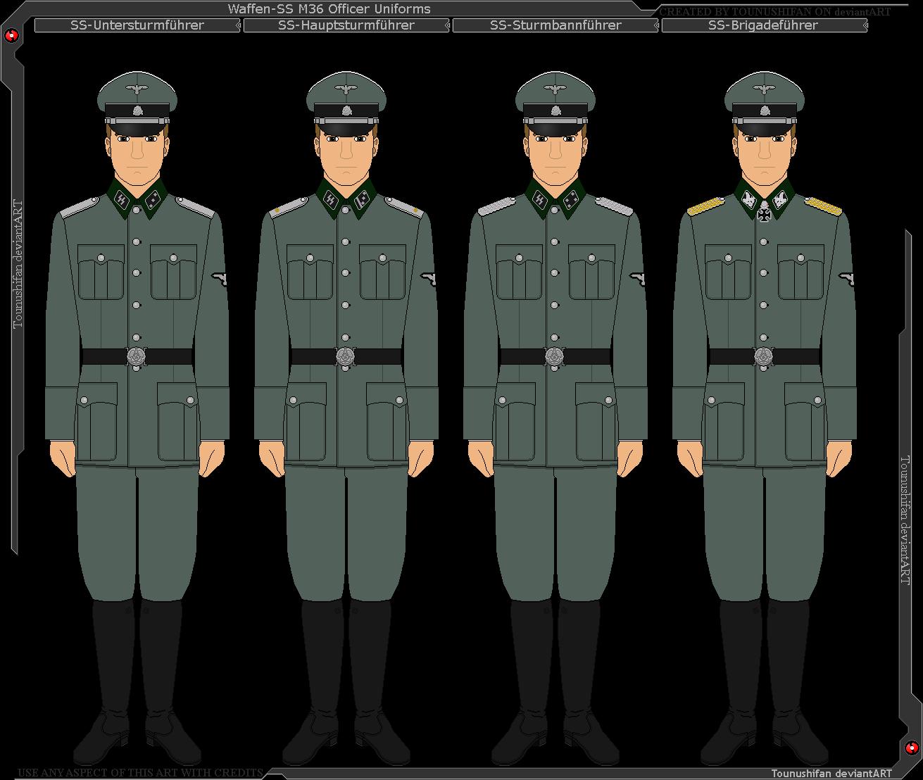 Waffen SS Uniforms  Hessen Antique