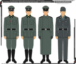 SS-TV and Luft. Concentration Camp Guard Uniforms