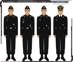 Heer Panzer Wrapper Uniforms by Grand-Lobster-King