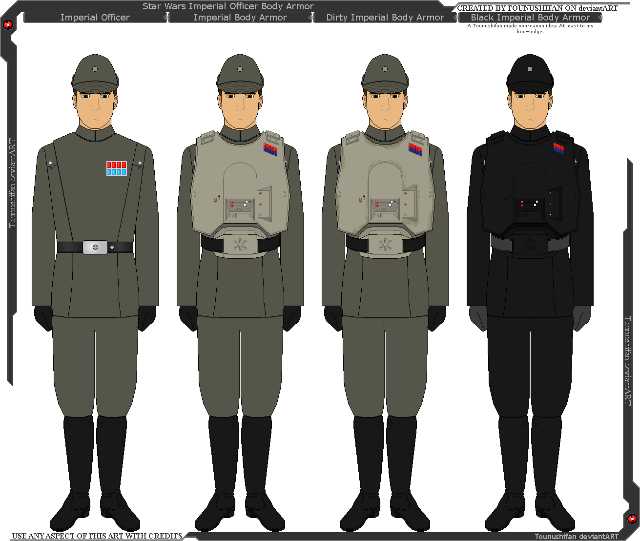 Star Wars - Imperial Officer Body Armor by Grand-Lobster-King on DeviantArt