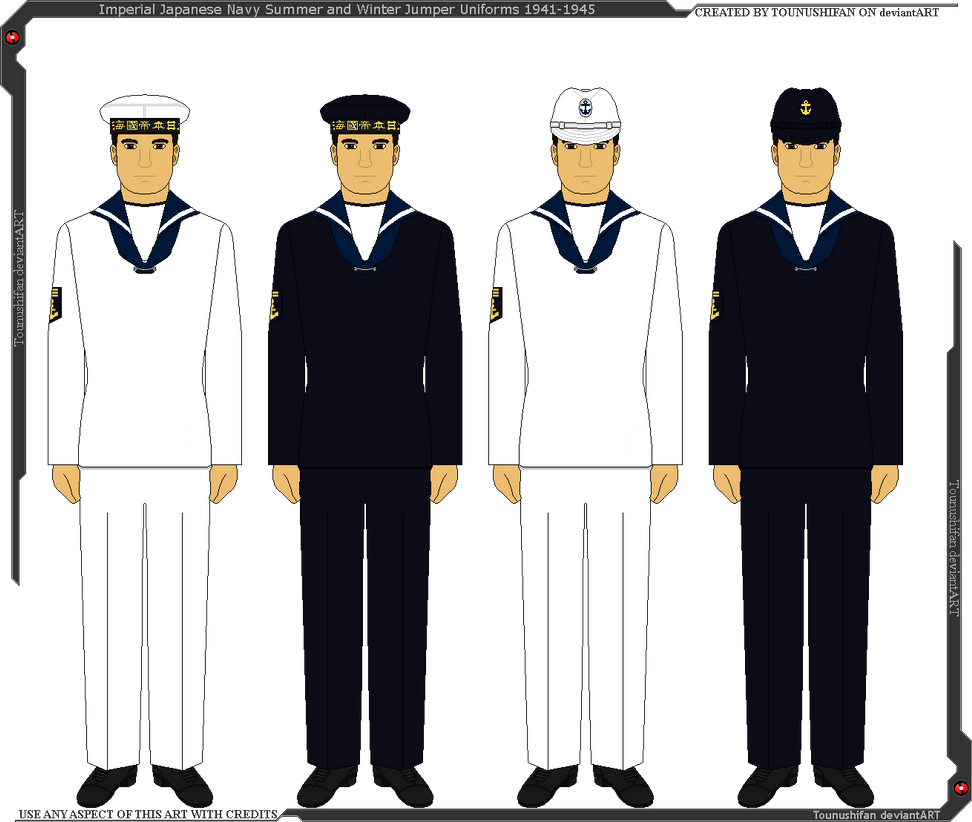 IJN Jumper Uniforms 1941-1945 by Grand-Lobster-King on ...