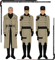 Fallout - Enclave Officers in Uniform