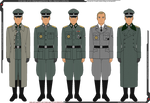 Overview of Felix Steiner's Uniforms