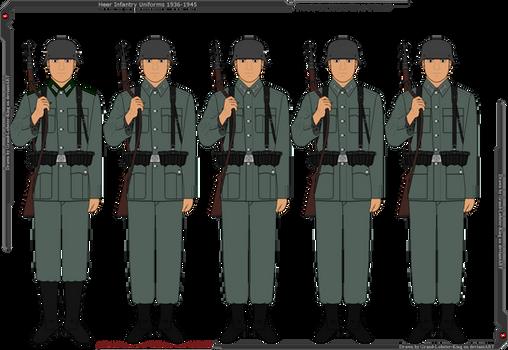 Heer Infantry Uniforms 1936-1945