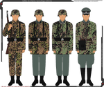 Waffen-SS Camouflaged Infantry Uniforms