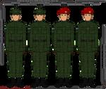 Panterria - Early War Battle Dress Uniforms
