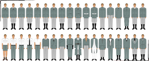 GLK Pixel Base Clothing/Uniform Templates by Grand-Lobster-King