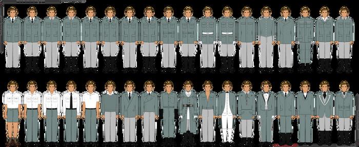 GLK Pixel Base Clothing/Uniform Templates