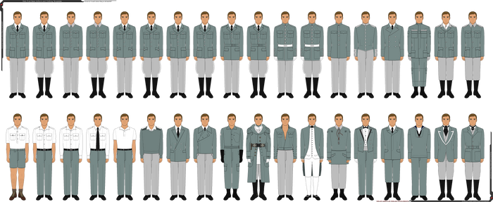 Male Pixel Base Clothing/Uniform Templates by Grand-Lobster-King